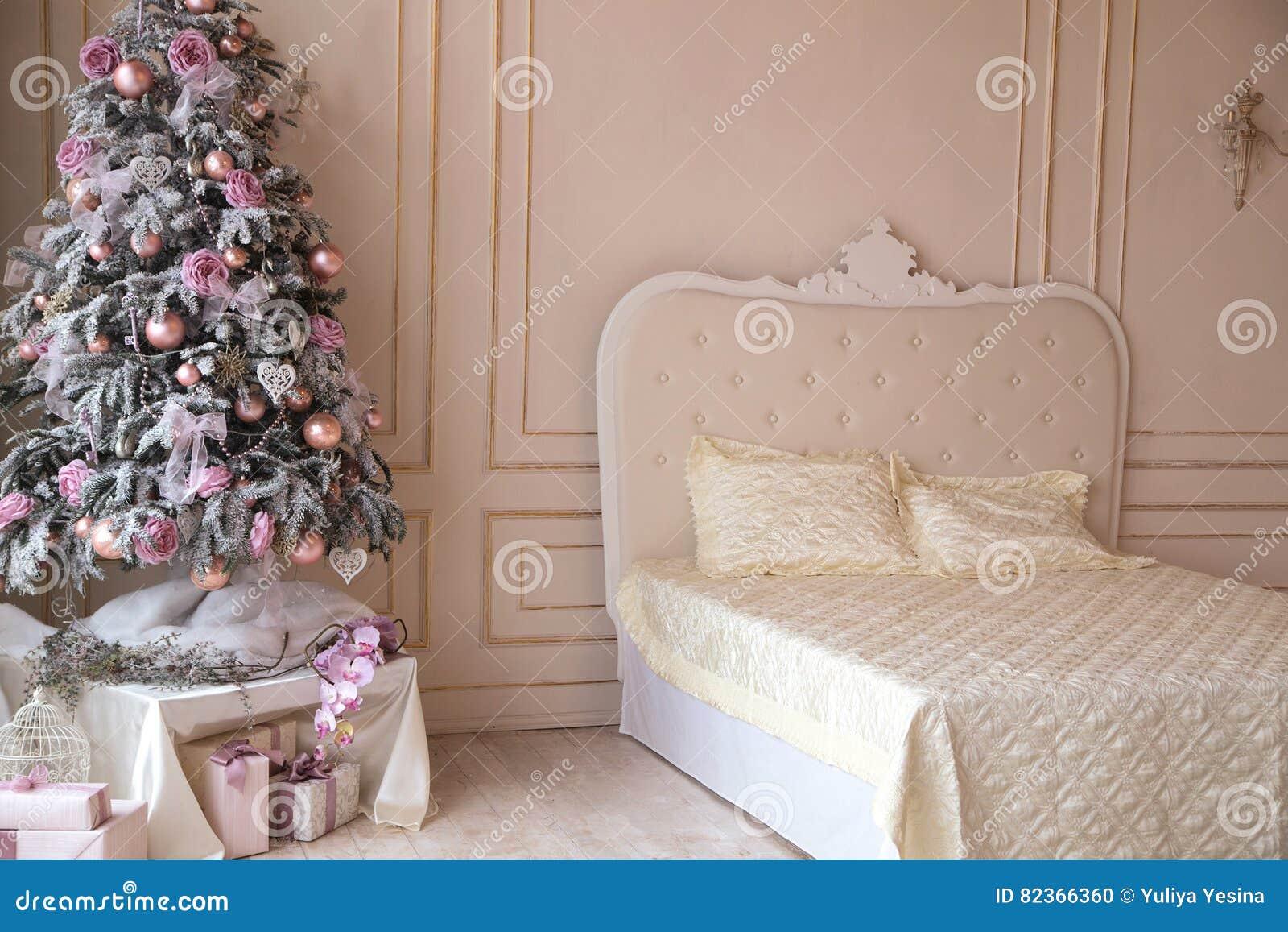 Decorazioni Camere Da Letto : Camera da letto decorazioni di natale albero di natale fotografia