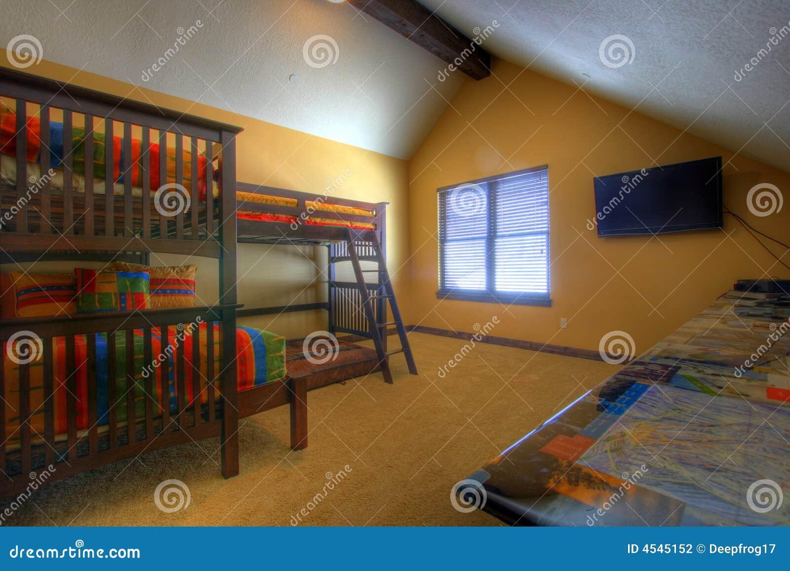 Camera da letto dei bambini fotografia stock immagine 4545152 - Camera da letto bambini ...