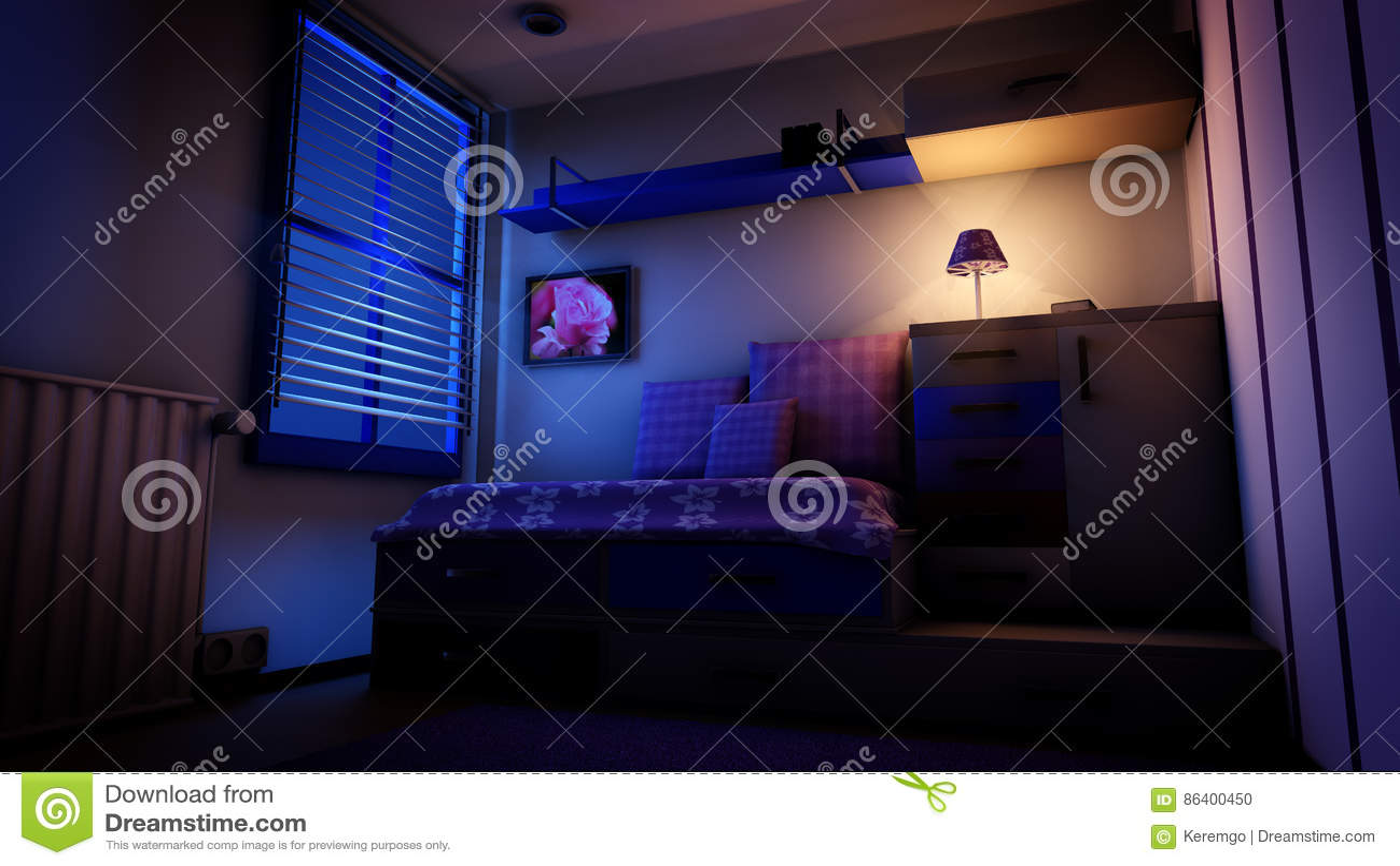 Letto Blu Notte: Biancheria da tavola rustica biancheria da letto ...