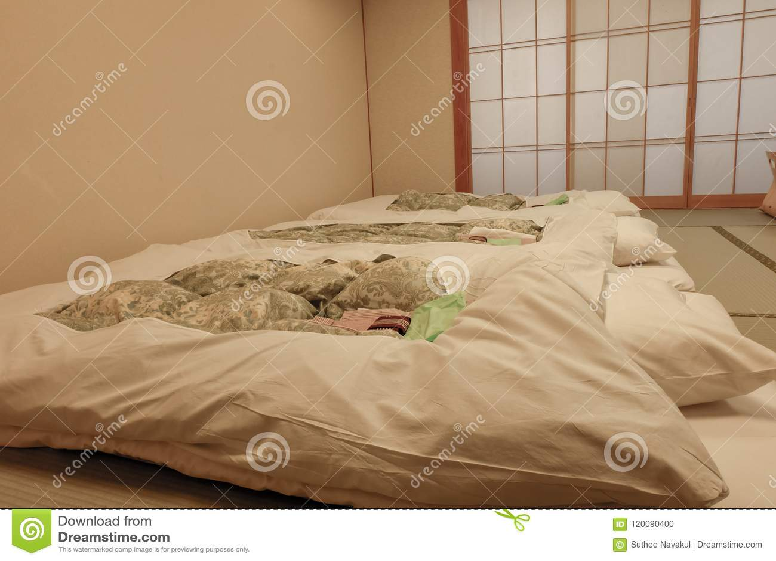 Camere Da Letto Tradizionali : Camera da letto del giapponese di vecchio stile camera da letto