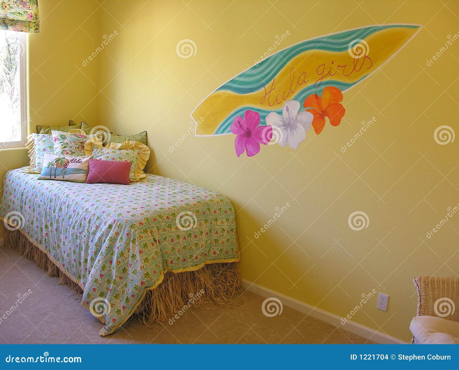 Camera da letto dell 39 hawai fotografia stock immagine di for Nuova camera da letto dell inghilterra