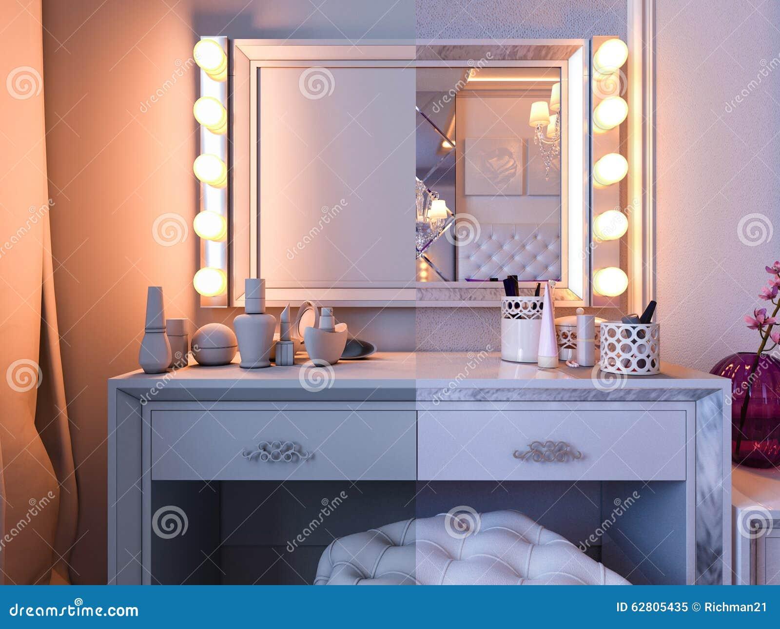 Camera da letto della rappresentazione 3d foto stock iscriviti gratis - I segreti della camera da letto ...