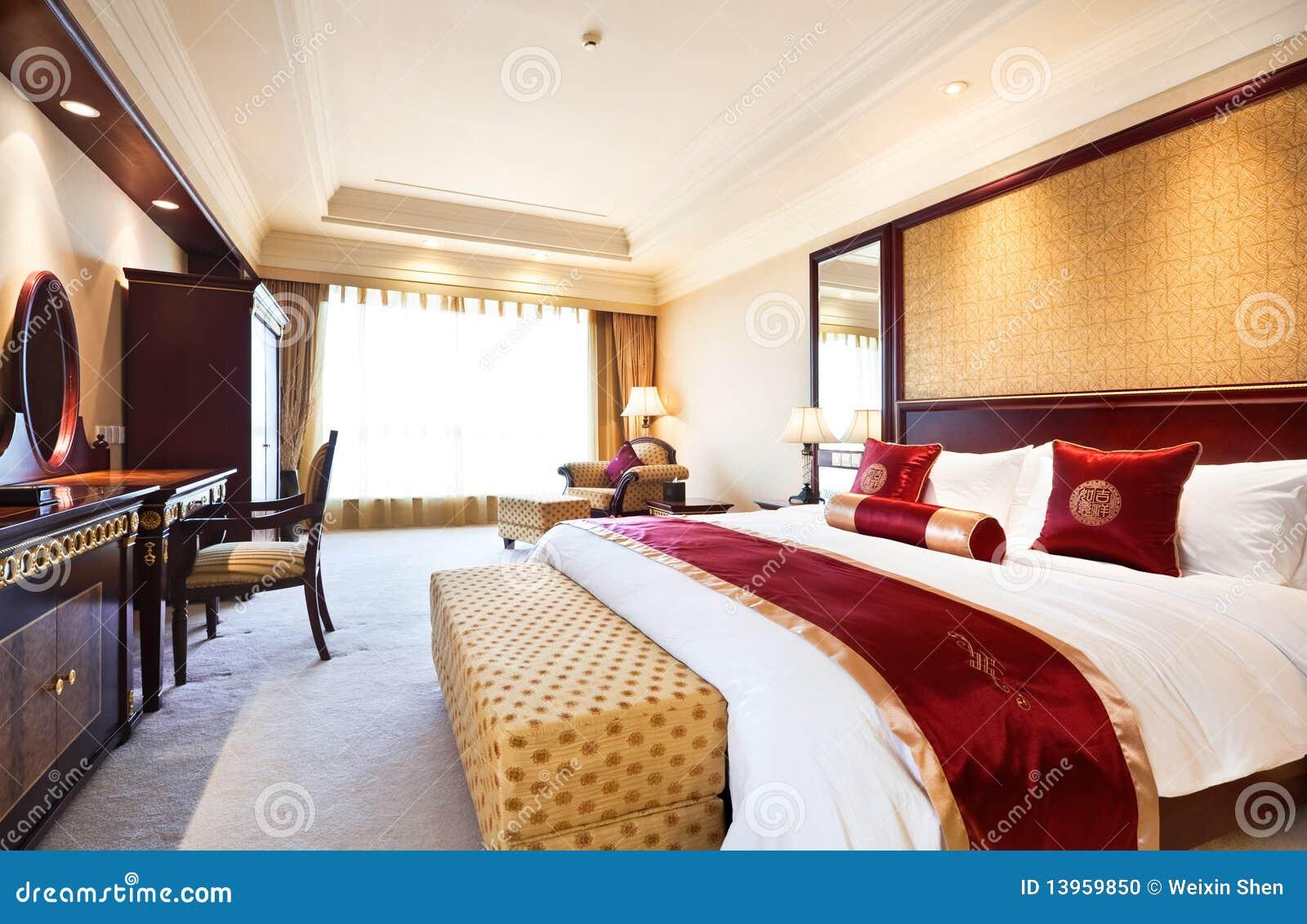 Camera da letto della serie di lusso in hotel fotografia - Camere da letto lusso ...