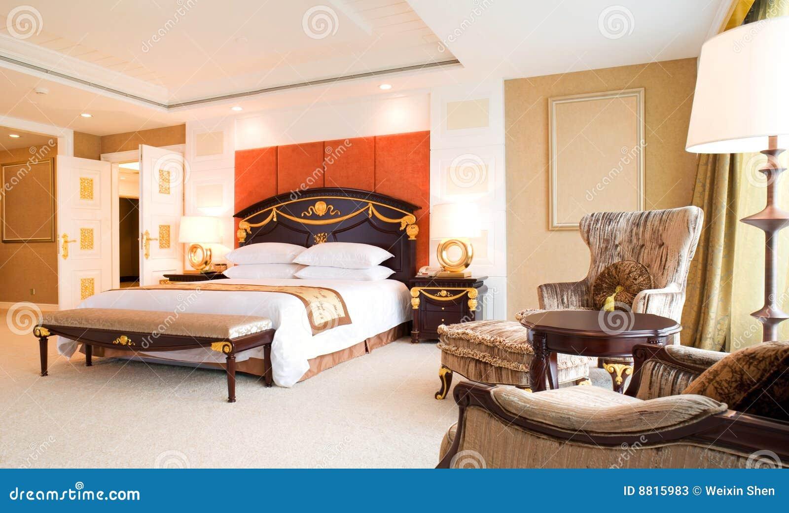 Camera Da Letto Della Serie Di Lusso In Hotel Fotografie Stock - Immagine: 88...