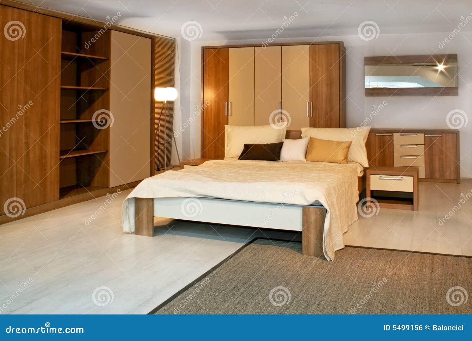 Camera da letto di legno 3 fotografia stock immagine di sistemazione 5499156 - Camera da letto legno ...