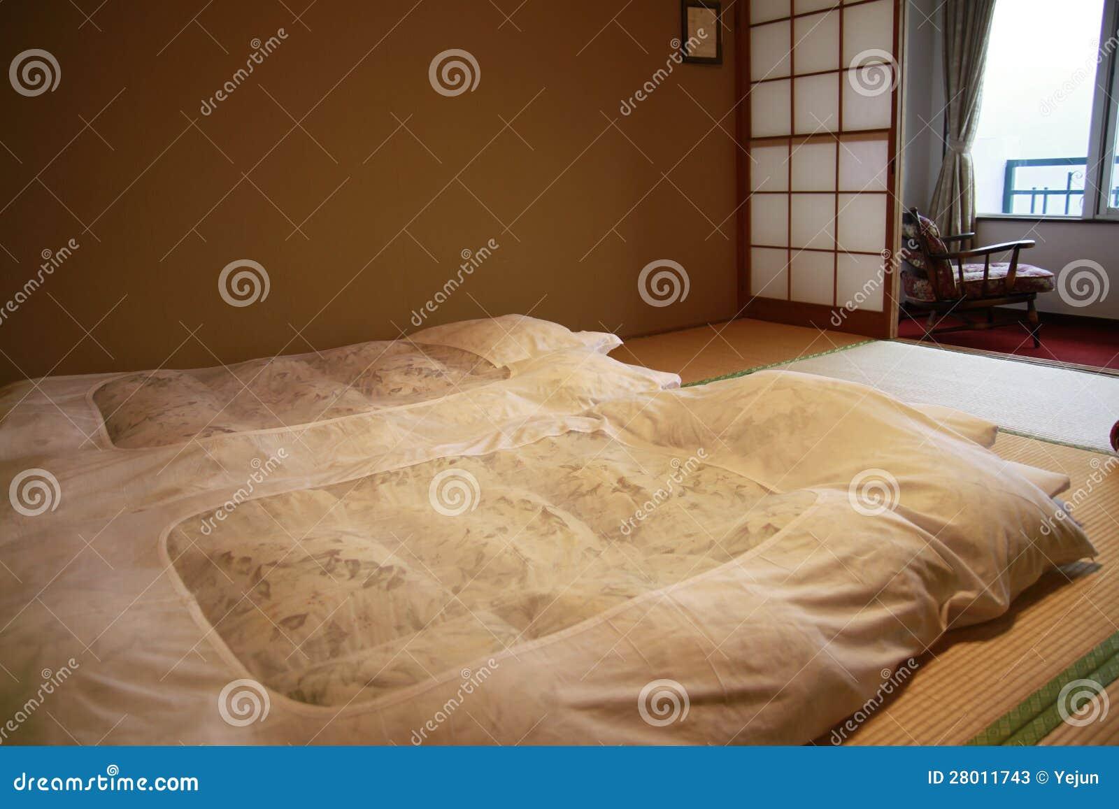 Camera Da Letto Di Stile Giapponese Fotografie Stock ...