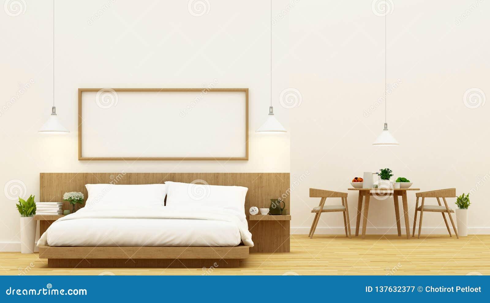Camera Da Letto E Sala Da Pranzo Per Progettazione Dell\'appartamento ...