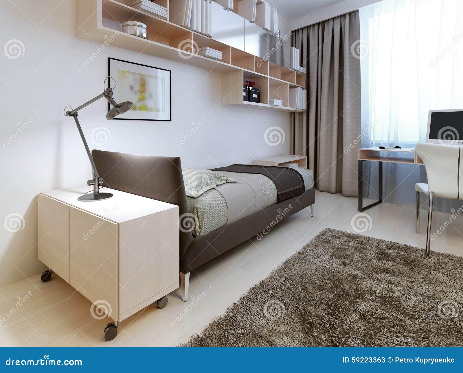 Camera da letto moderna stock photos royalty free images - Pareti camera da letto moderna ...