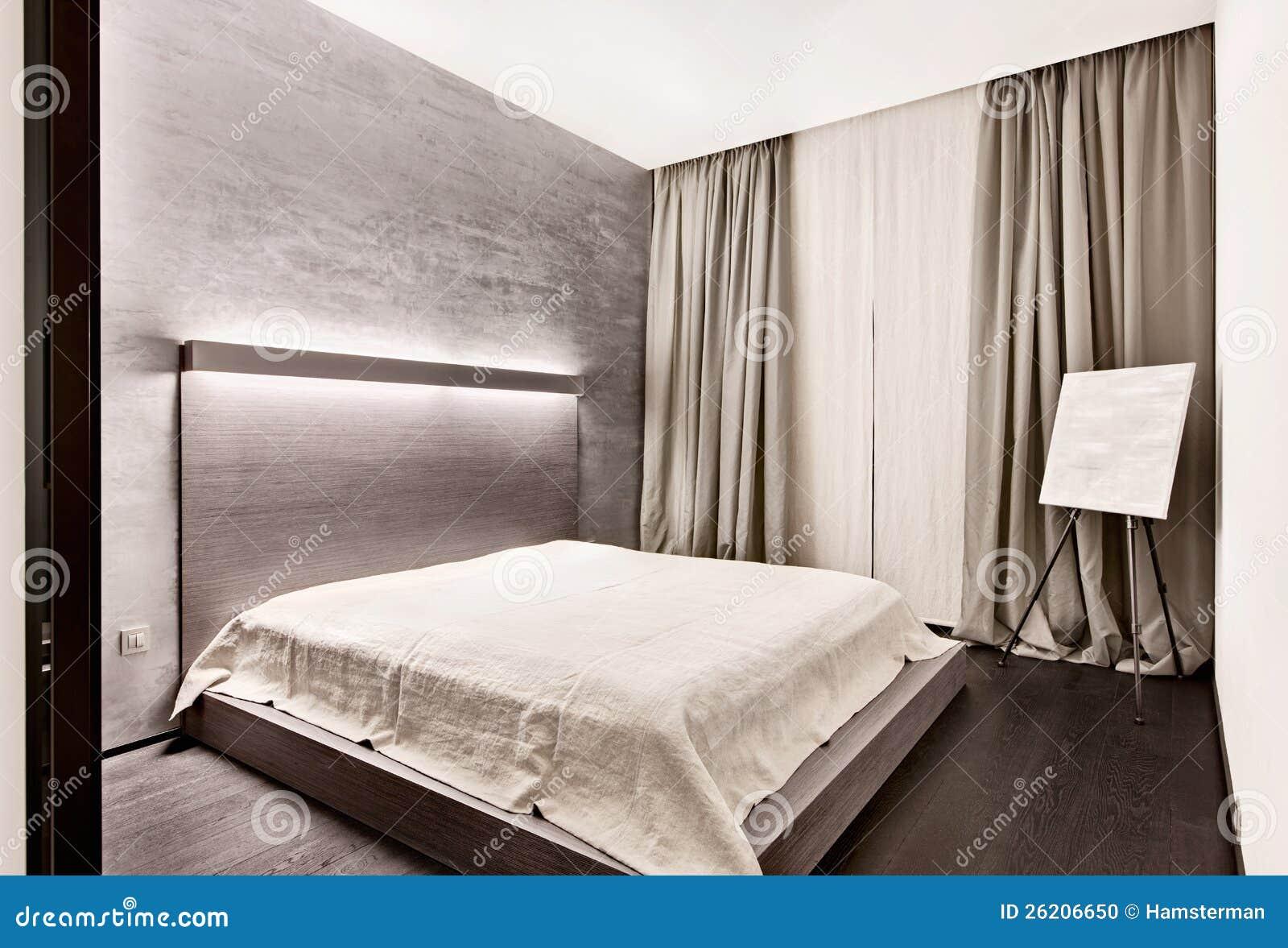 Stili Di Camere Da Letto camera da letto moderna di stile di minimalism fotografia