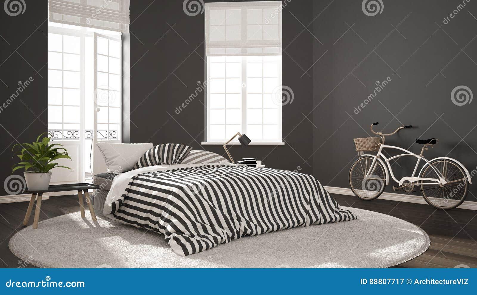 Camere Da Letto Nordiche : Camera da letto moderna scandinava minimalista interno nordico