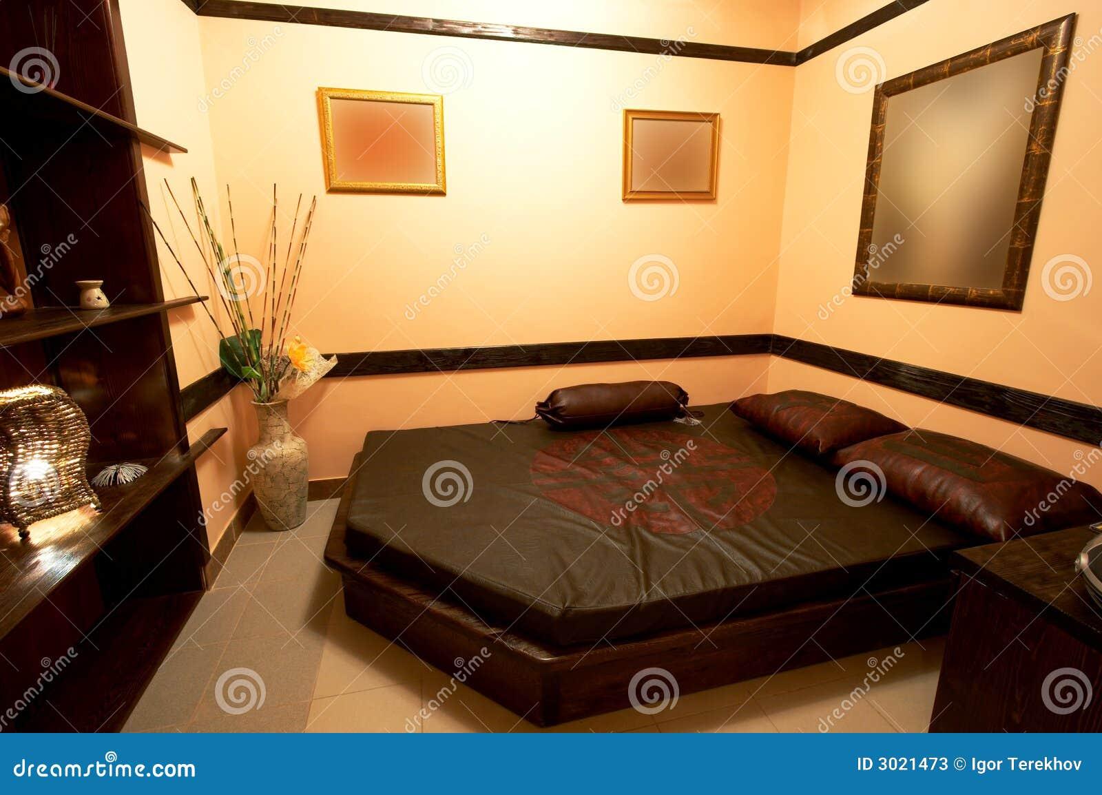 Stanze Da Letto Stile Giapponese : Camera da letto nello stile giapponese immagine stock immagine di