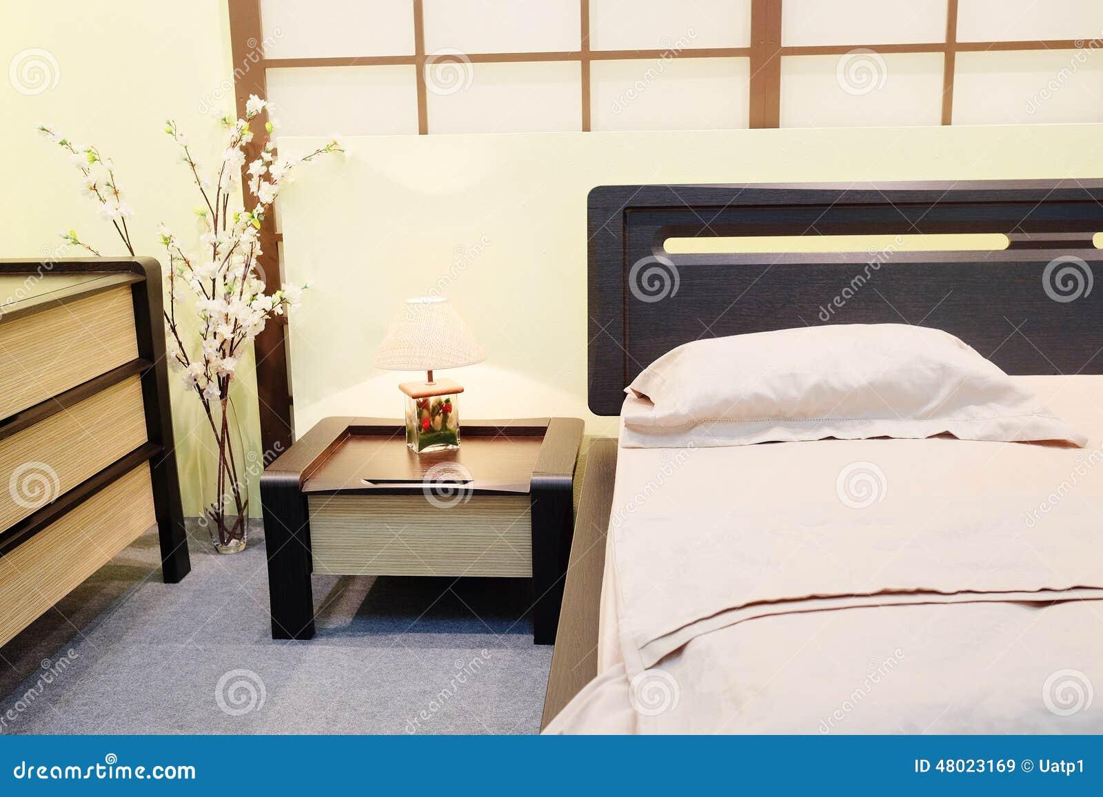 Camera Da Letto Japan : Camera da letto nello stile giapponese immagine stock