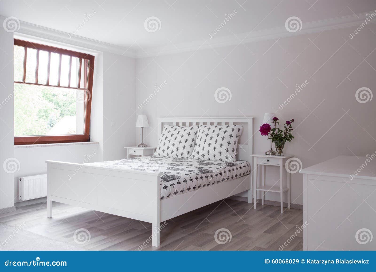 Camera Da Letto Nello Stile Romantico Immagine Stock - Immagine di ...