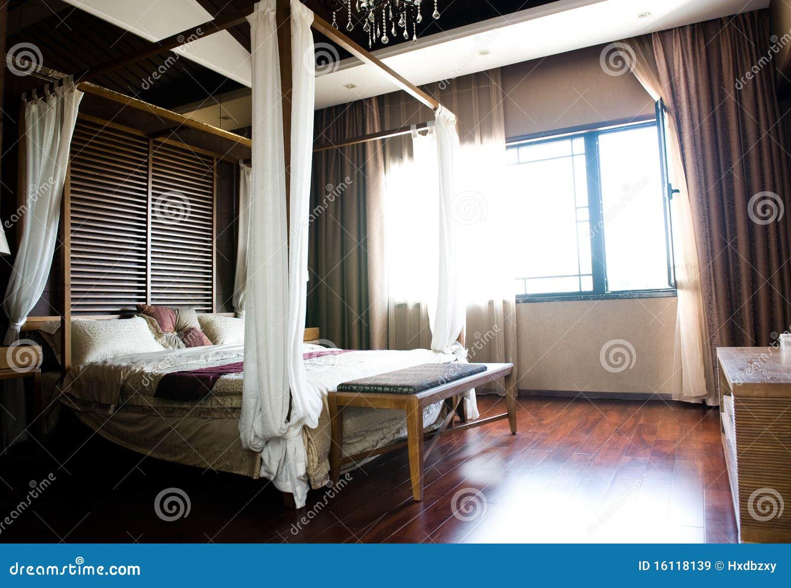 Camere Da Letto Stile Orientale : Camera da letto orientale di stile immagine stock immagine di