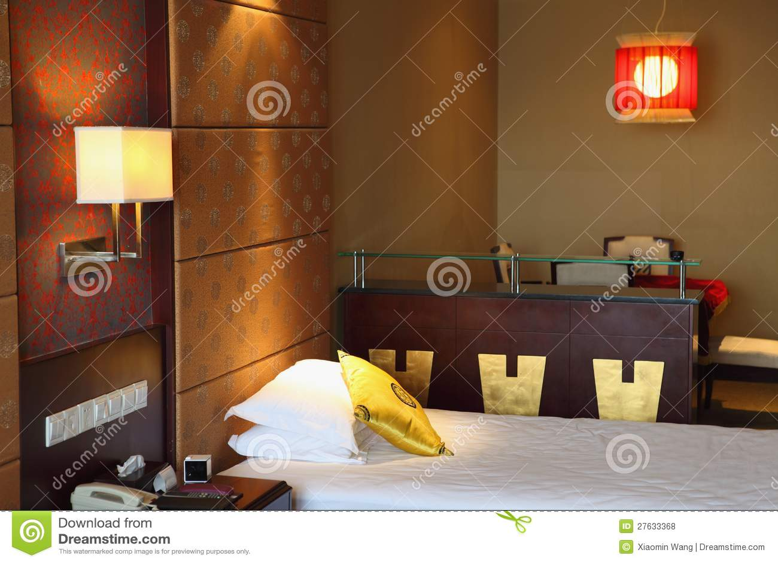 Camera Da Letto Orientale Di Stile Fotografia Stock - Immagine di ...