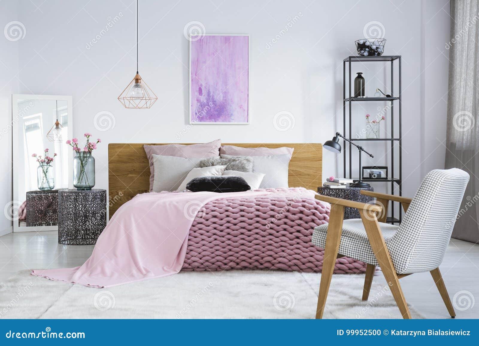 Pittura Stanza Da Letto camera da letto pastello con la pittura dell'acquerello