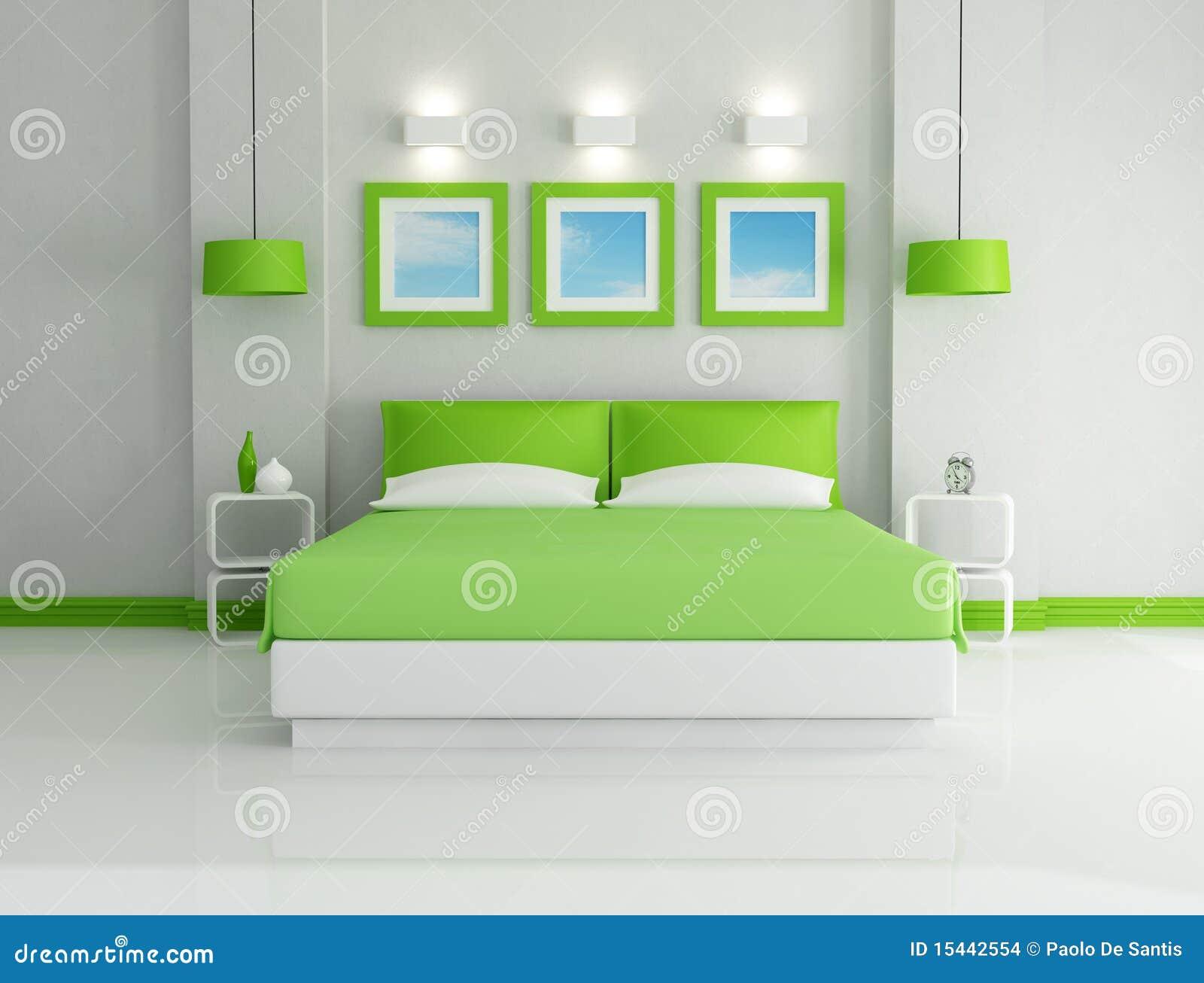 Disegni Parete Camera Da Letto : La camera da letto verde intenso ...