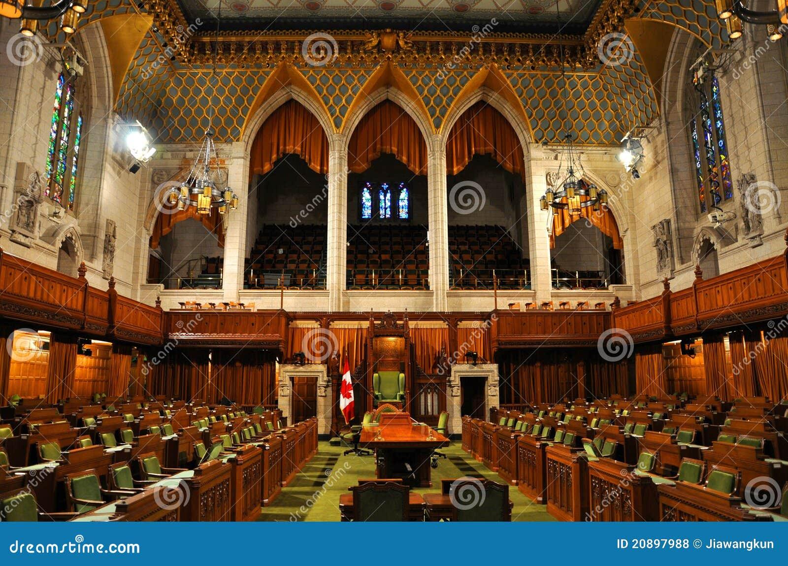Camera dei comuni del parlamento ottawa canada for Camera dei