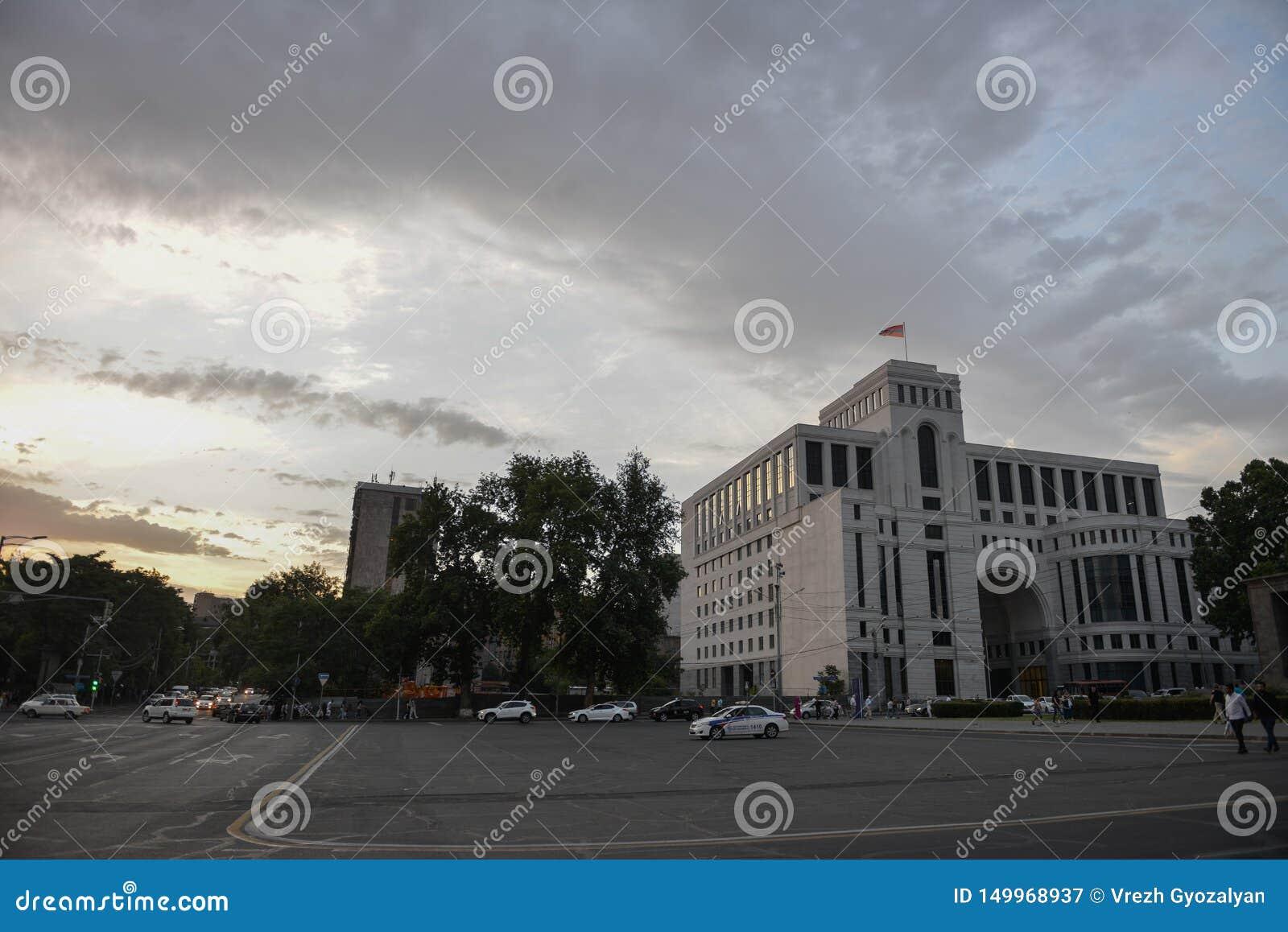 Camera del ministero degli affari esteri, Armenia