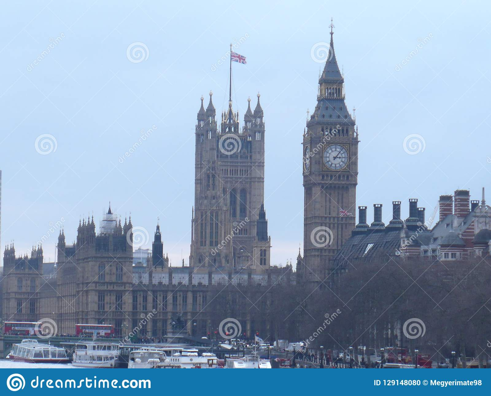 Camera del Parlamento e di Big Ben