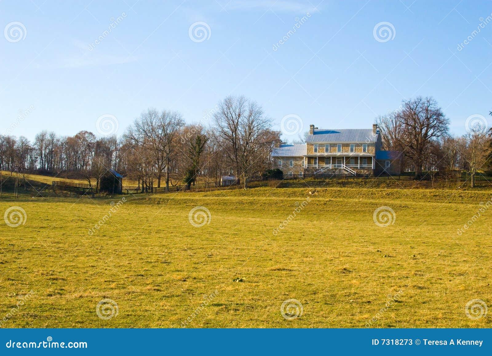 Camera dell azienda agricola nella Virginia