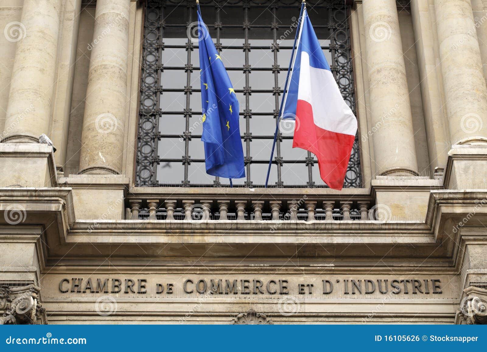 Camera di commercio di parigi fotografia stock immagine - Chambre internationale de commerce ...