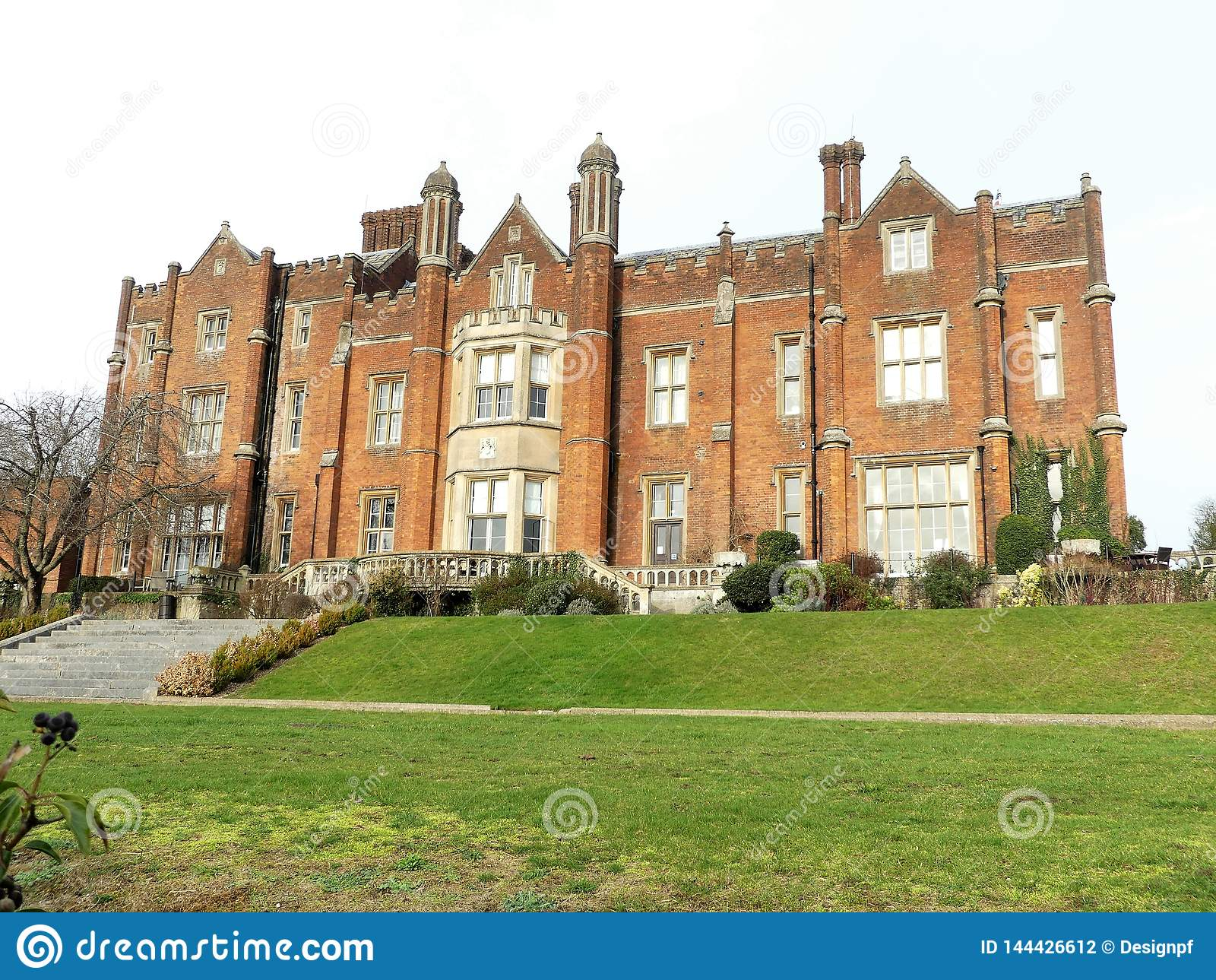Camera di Latimer un palazzo stile Tudor, Latimer, Buckinghamshire