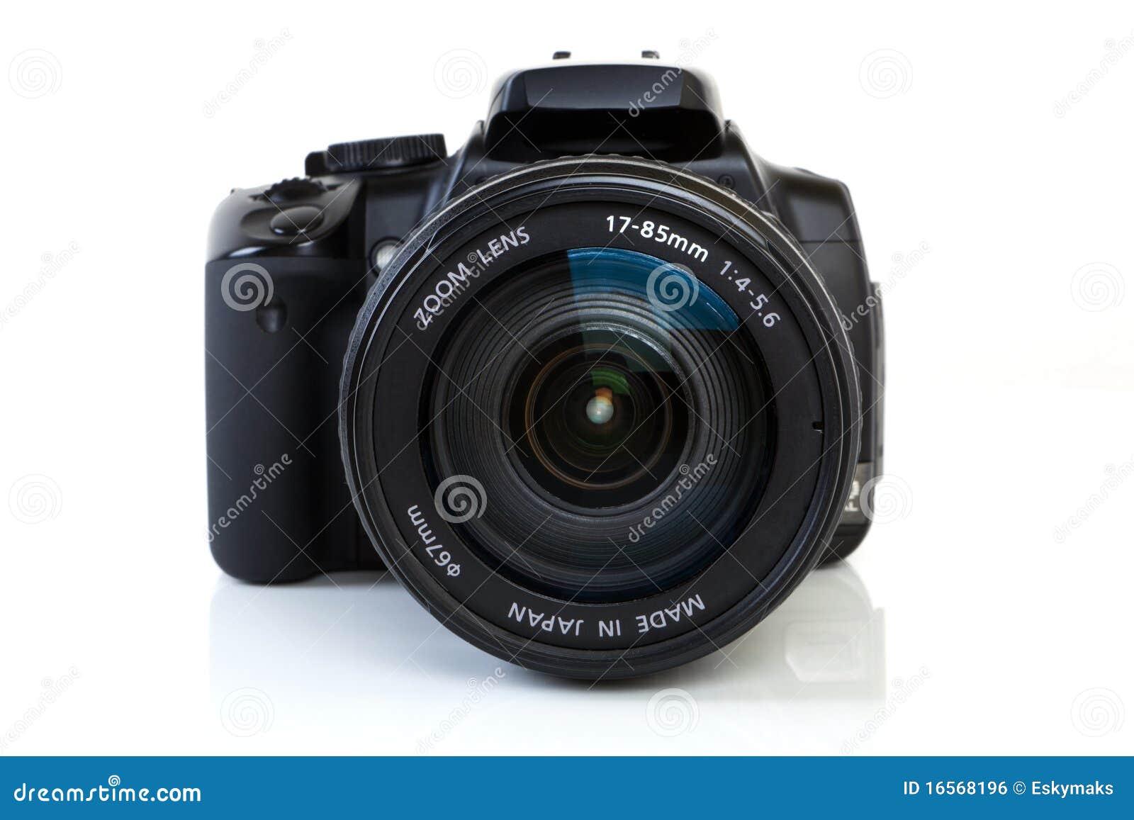 Camera DSLR - vooraanzicht