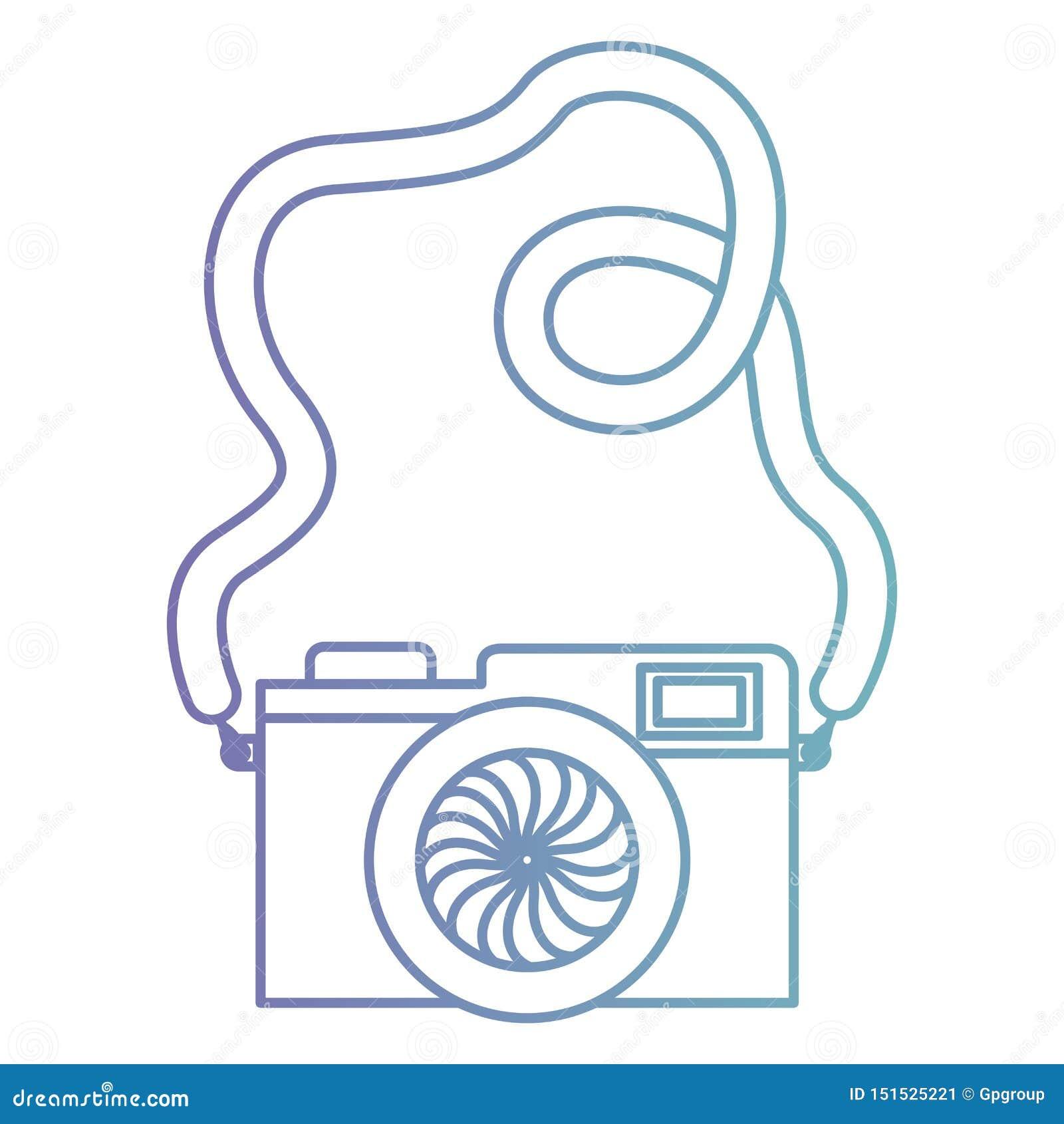 Camera fotografisch ge?soleerd pictogram