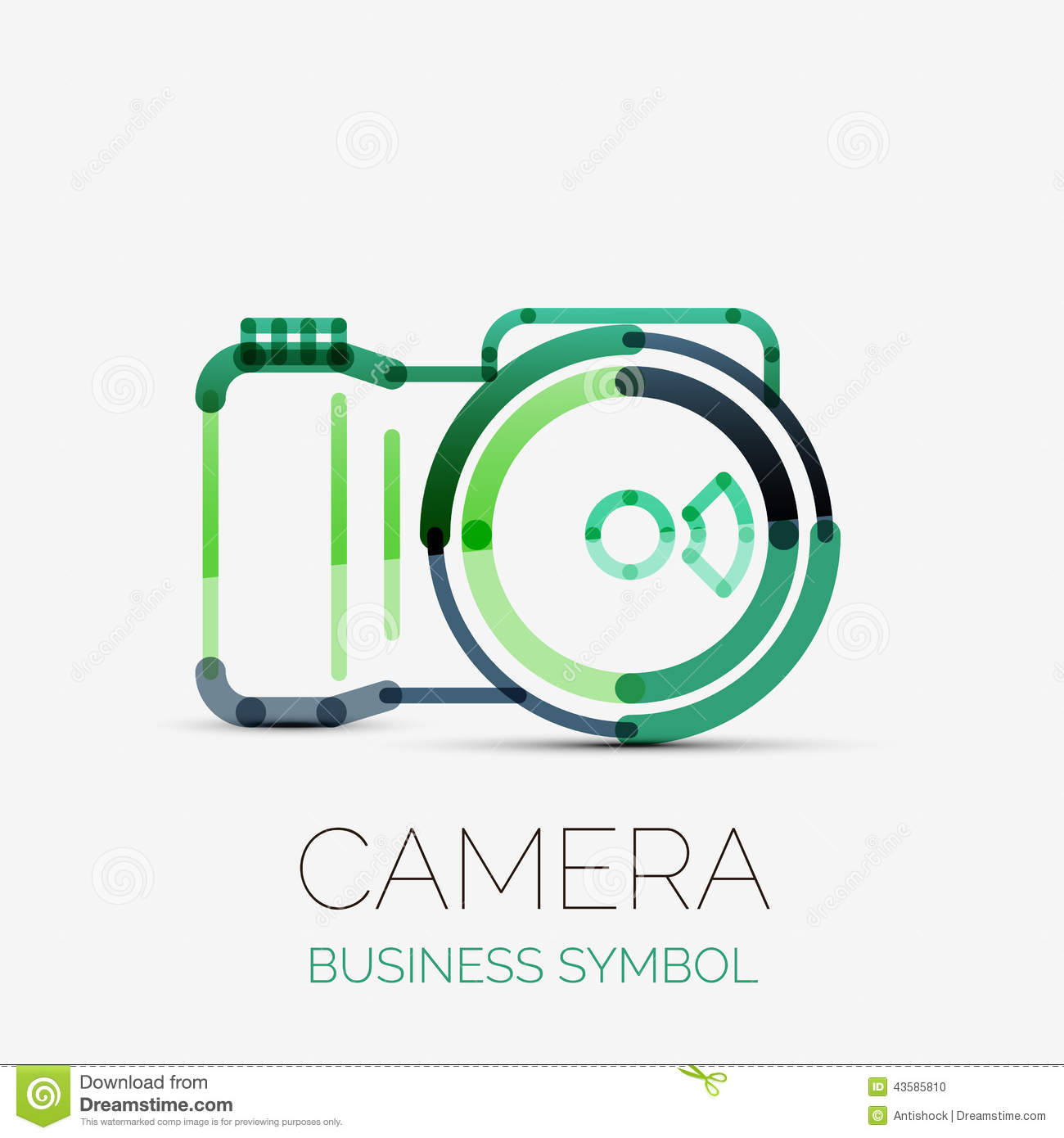 Camera Company Logo Camera icon company logo,