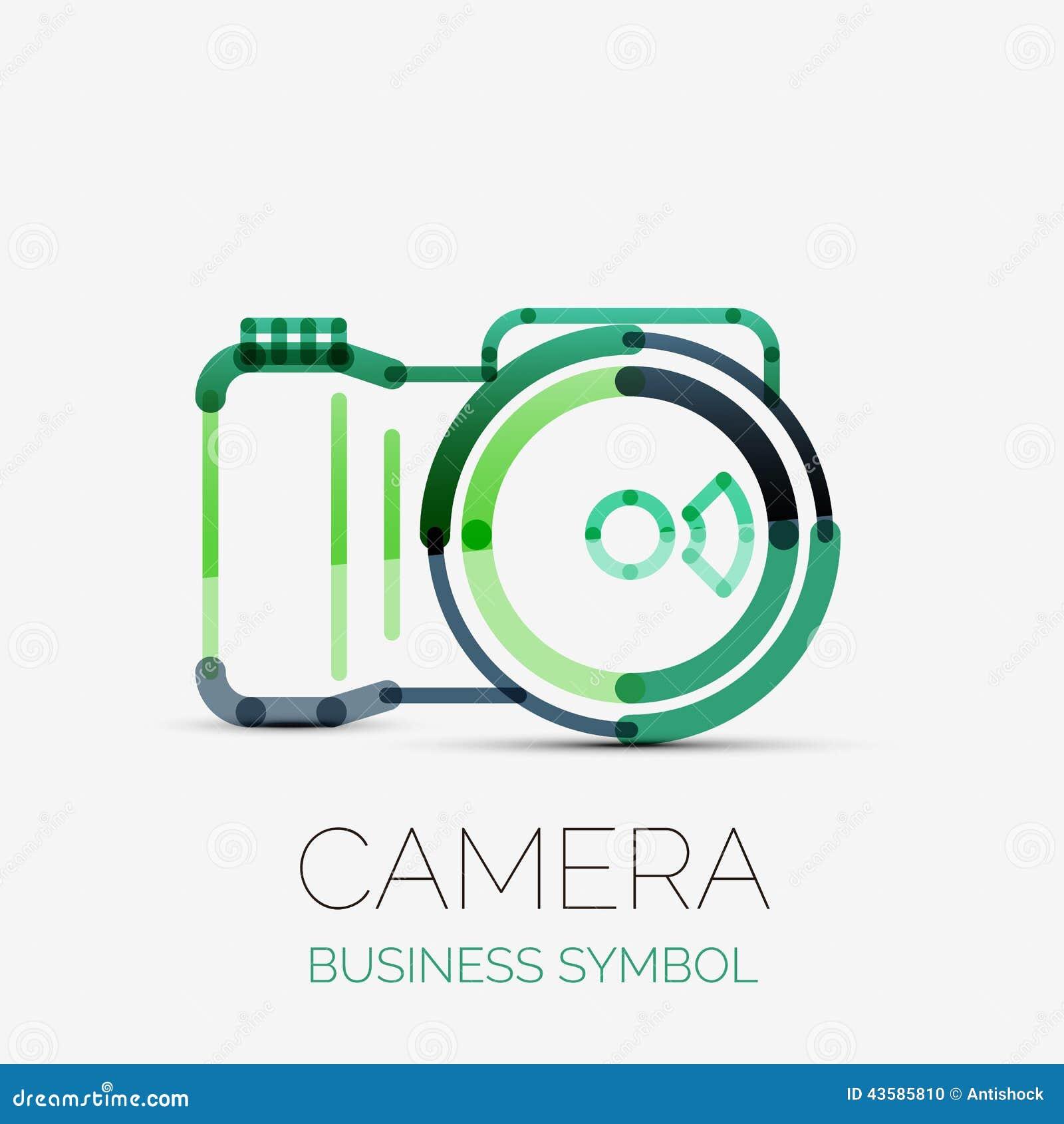 Camera Company Logo Camera icon company logo,