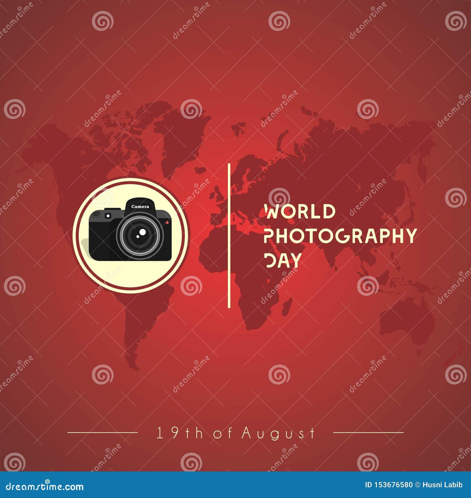 Camera Vector Design World Photography Day Stock Vector Illustration Of Camera Design 153676580