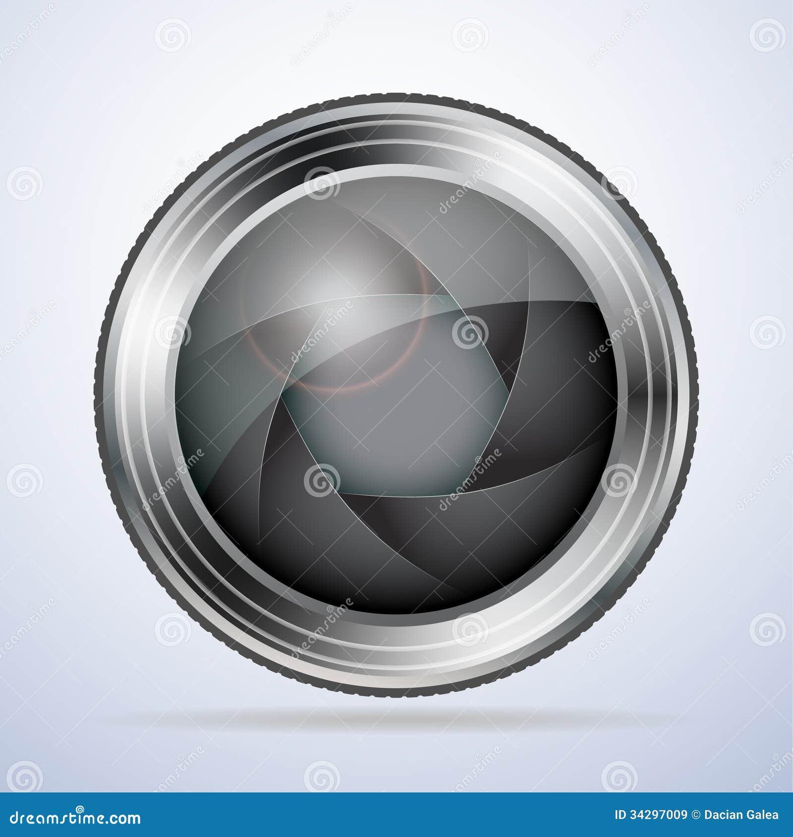 Camera lens with aperture