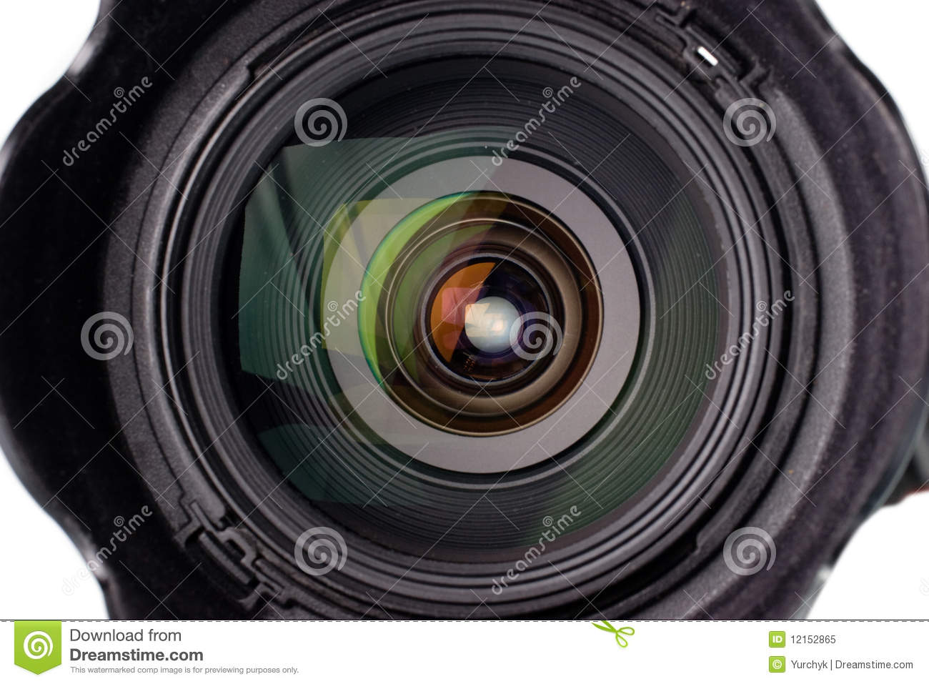 Video Camera Lens Reflection Camera lens with reflection Video Camera Lens Reflection