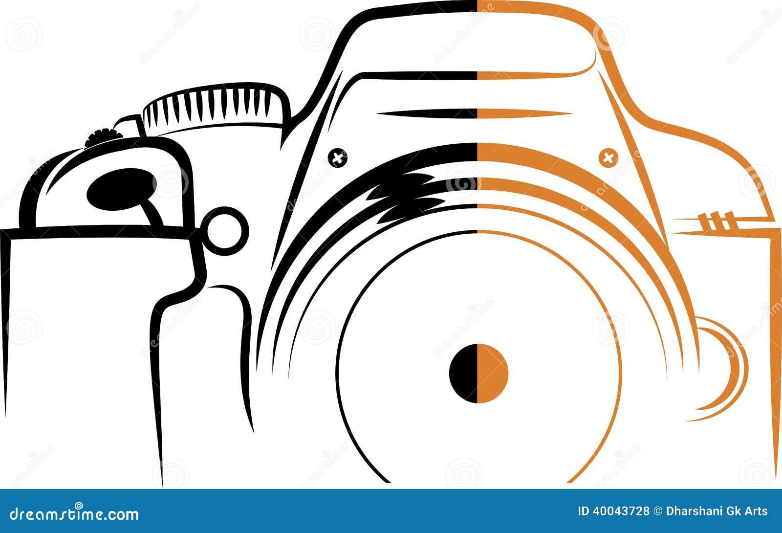 Camera Company Logo Camera logo royalty free stock