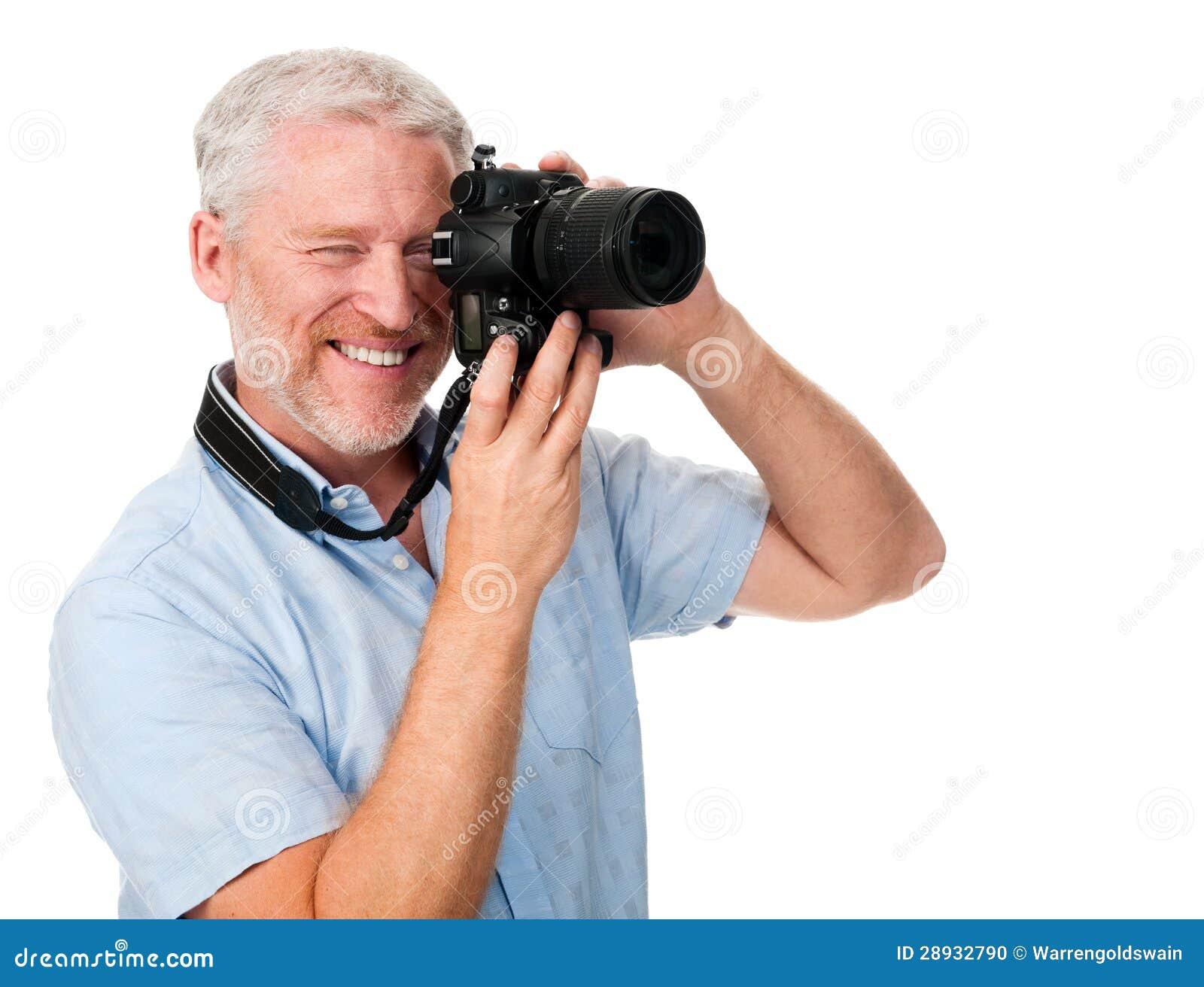Camera Man Hobby Stock Photo - Image: 28932790