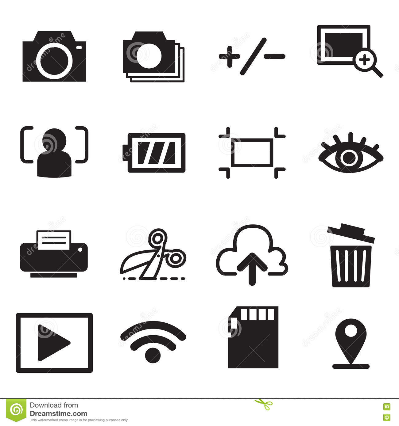 icons flash drive  vector illustration  cartoon vector