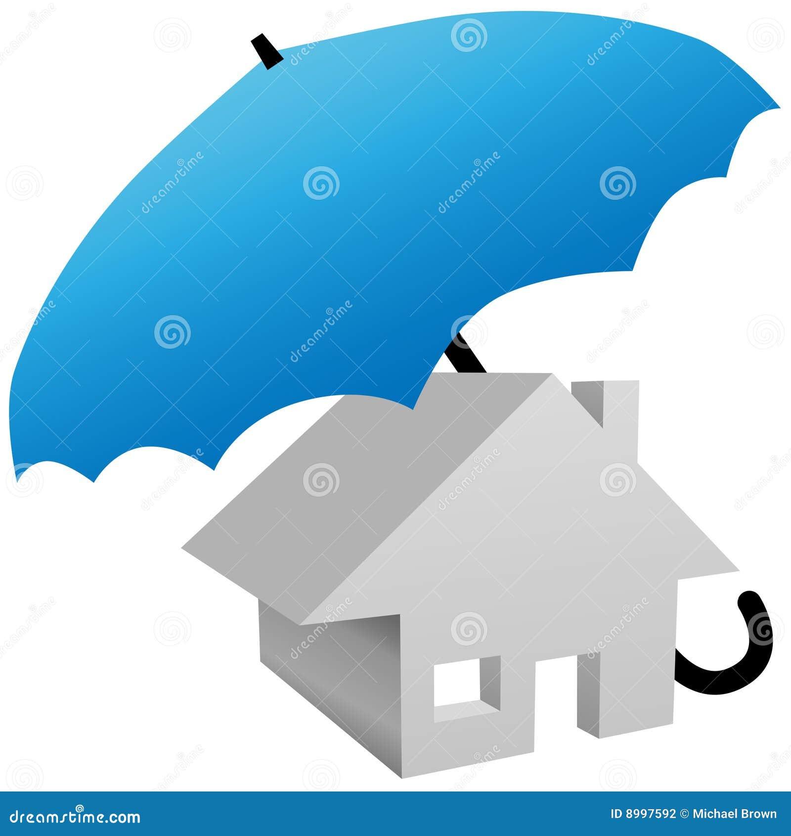Camera protettiva dall 39 ombrello di assicurazione della for Assicurazione domestica