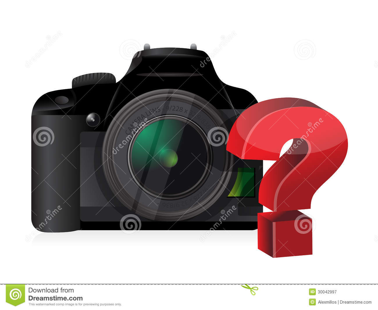 Camera Question Mark Royalty Free Stock Photography ...