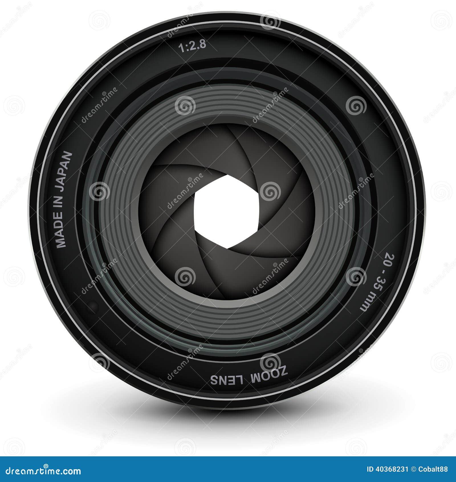 camera shutter stock vector image of professional design