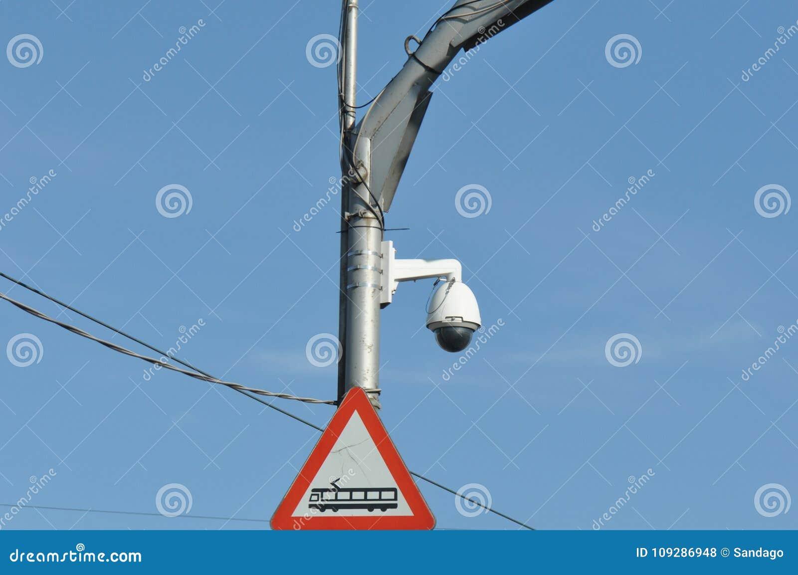 Camera surveillance from traffic
