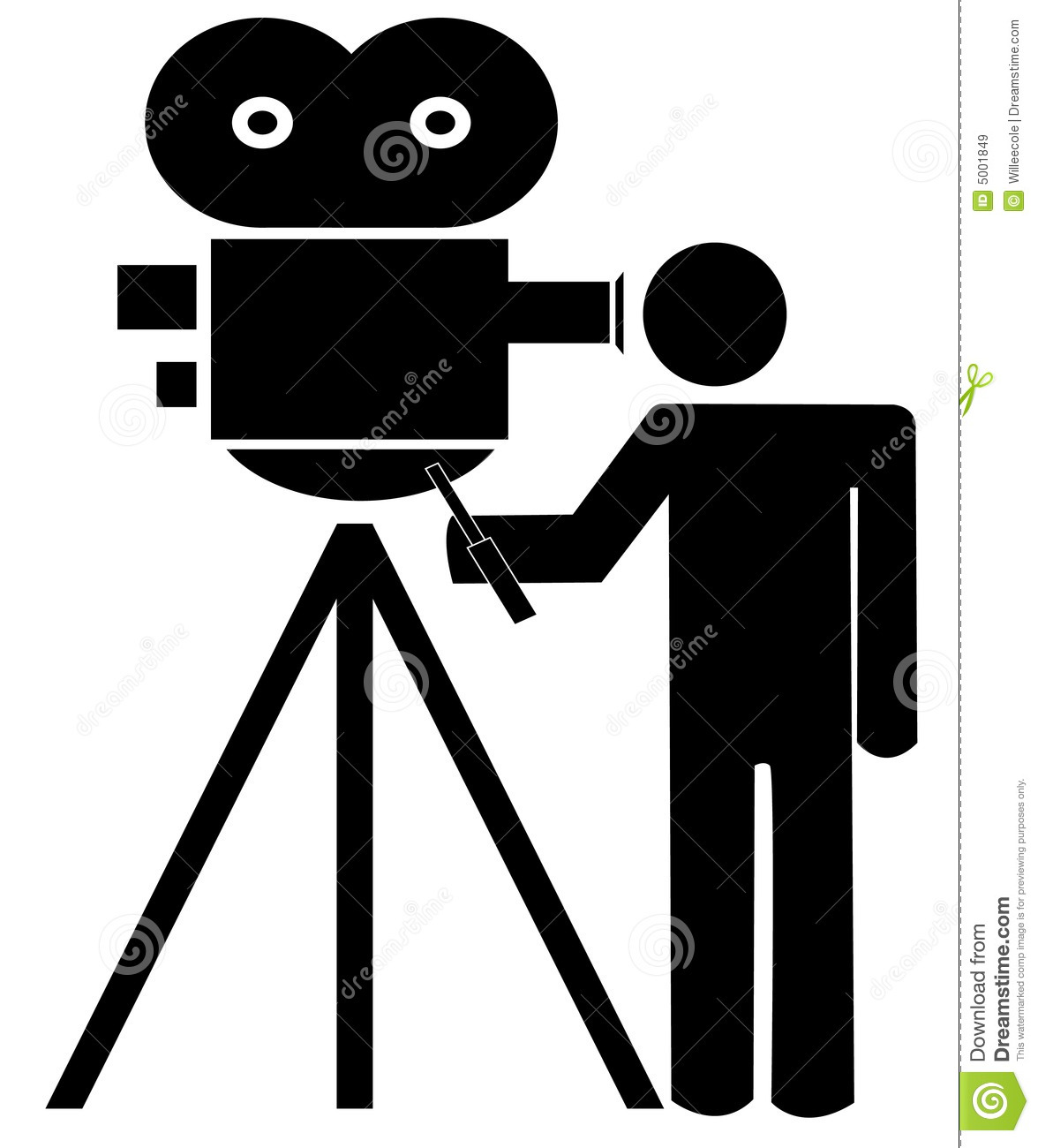 cameraman royalty free stock images image 5001849 vintage movie camera clipart vintage movie camera clipart