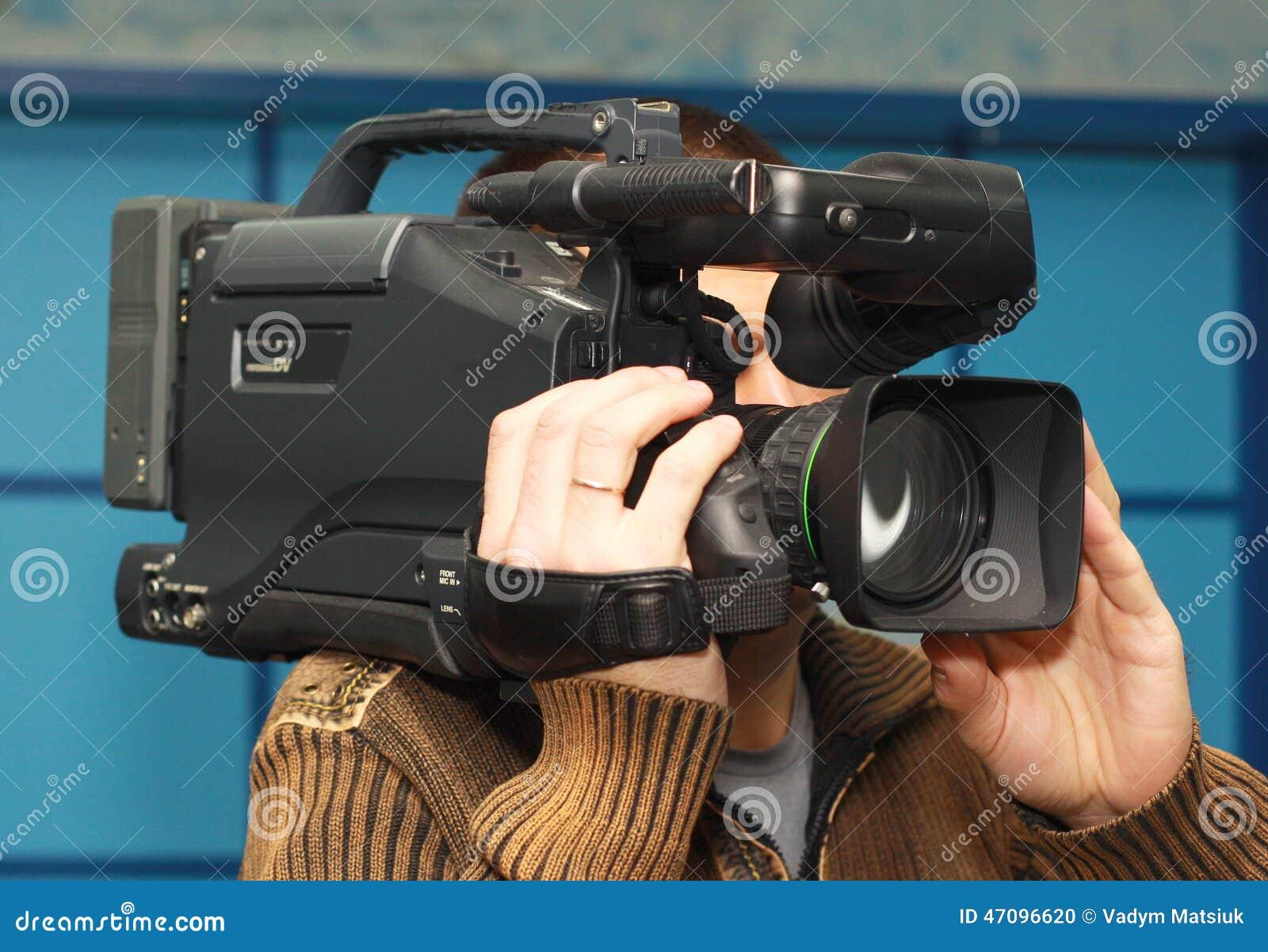 Cameraman de télévision