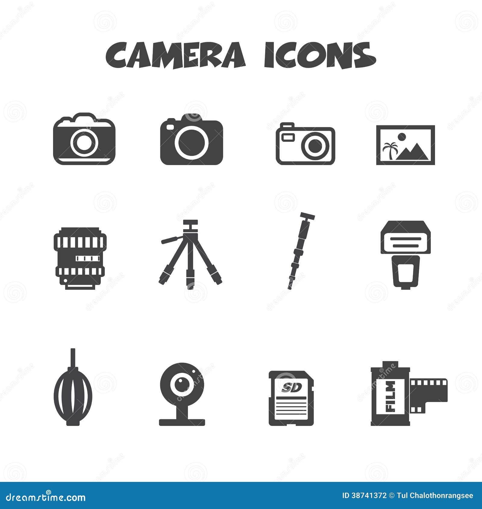 Camerapictogrammen
