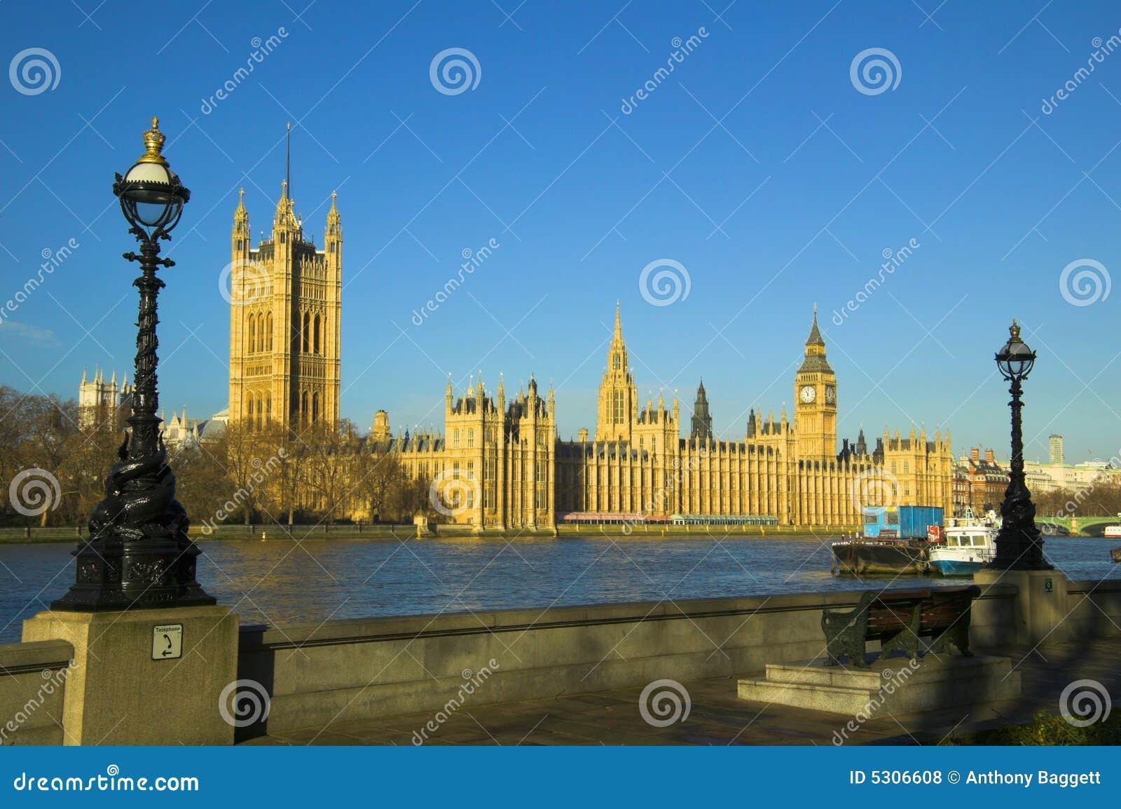 Download Camere del Parlamento fotografia stock. Immagine di monarca - 5306608
