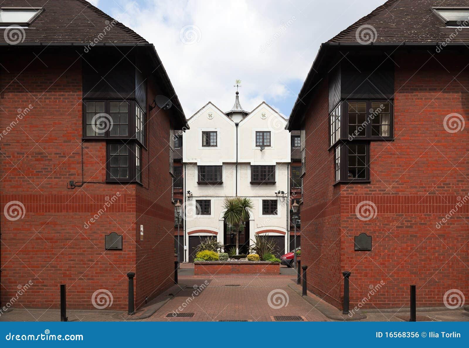 Camere A Terrazze Moderne. Londra. Il Regno Unito Fotografia Stock ...