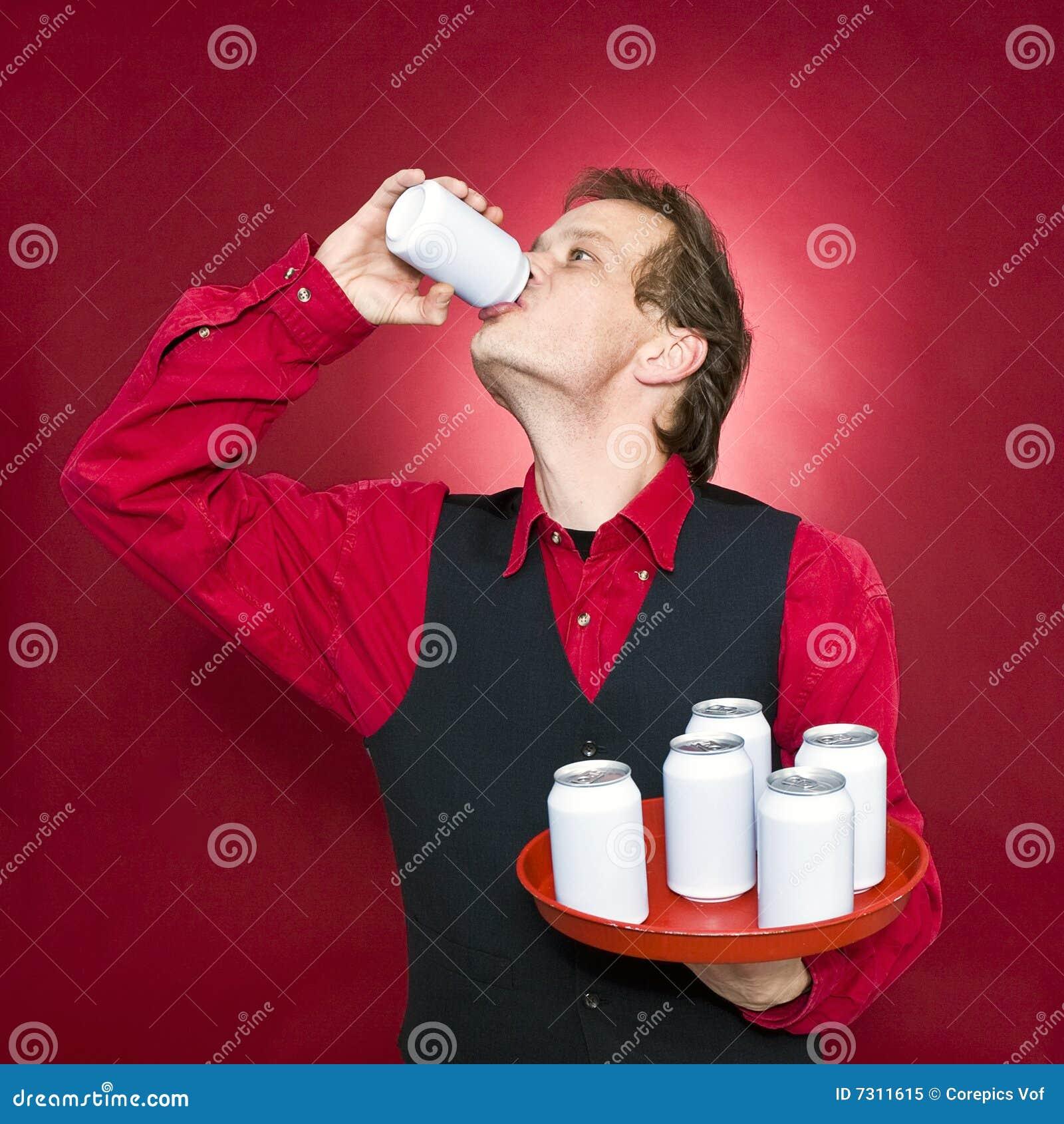 Cameriere assetato