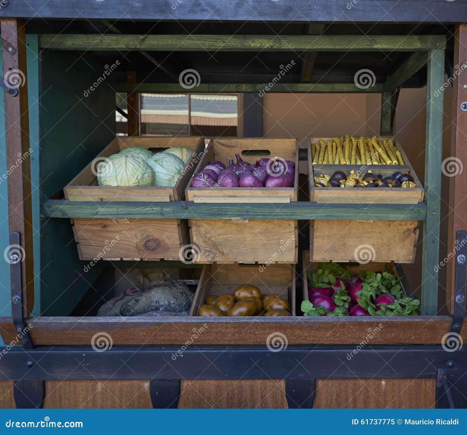 Camión de las verduras