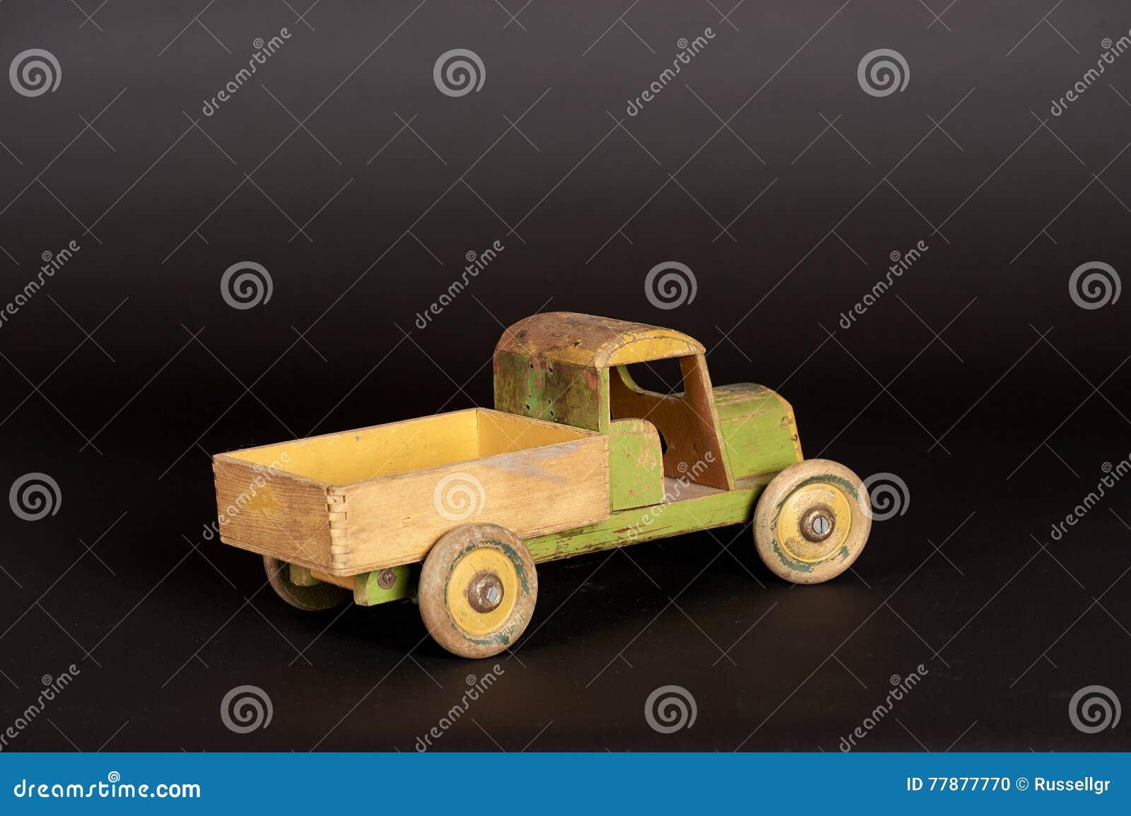 Camión De Madera Foto de archivo