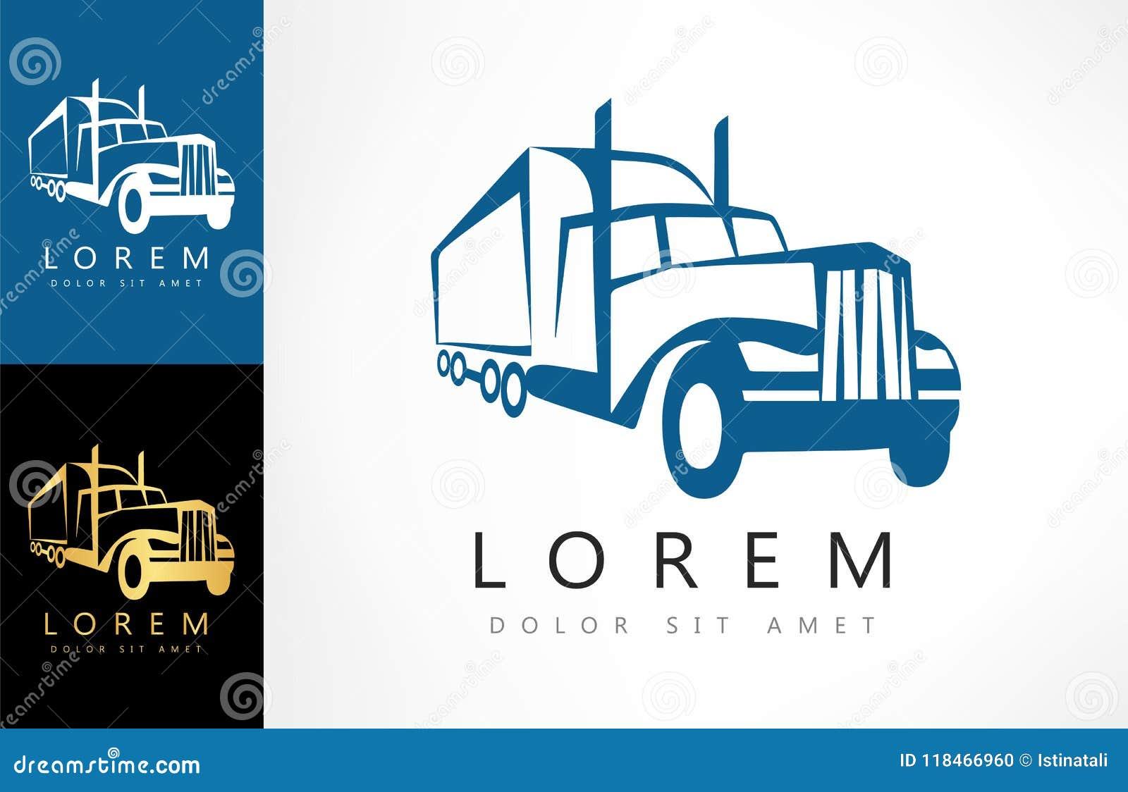 Camión Logo Vector